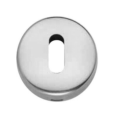 Escutcheon Thema Stud 882M Hole Patent Solid Brass Door Satin Chrome