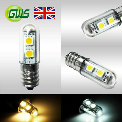 1.5W 120Lms E14 SES Capsule LED Light Bulb Home/Fridge/Cooker/Cabinet Lamp UK A+