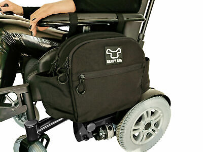 Power Wheelchair Zipped Side Bag - New Design - Very secure and high quality