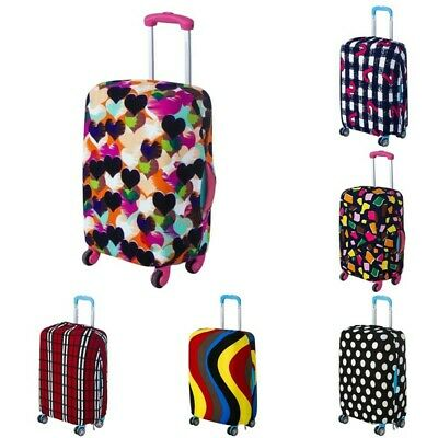 Elastic Dust-proof Cover Travel Luggage Trolley Suitcase Cover Dust Protector AU