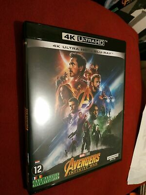 4K Avengers Infinity War   ATTENTION VENDU SANS LE BLU RAY 2d