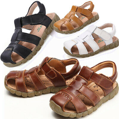 Boys Baby Girls Sports Sandals Kids Beach Walking Closed Toe Summer Casual Shoes
