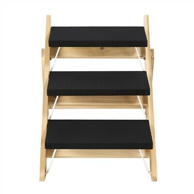2-in-1 Folding Pet Ramp & Stairs for Dogs Cats Pet Steps Ladder Animal Portable