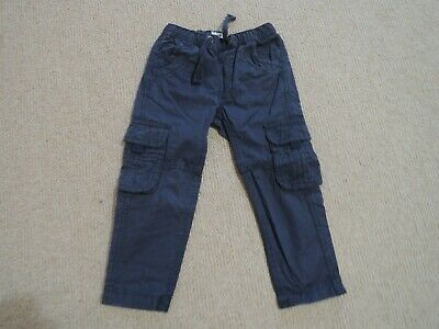 Fat Face Boys Navy Cargo Trousers Age 4