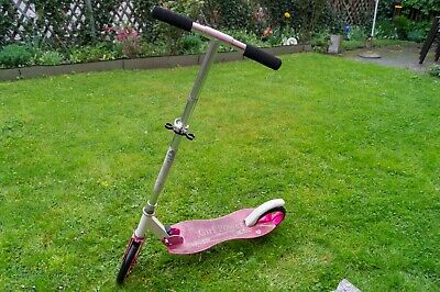 Cityroller Pink Aluminium Scooter Roller Tretroller Big Wheel ArtSport®
