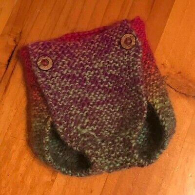 NEW Size Newborn Hand Made Woollen Nappy Cover