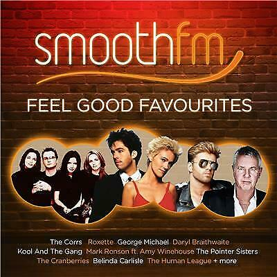 Smooth FM Feel Good Favourites BRAND NEW 2CD Sealed