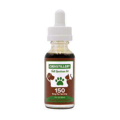 Hemp Oil for Dogs Cats Stress Anxiety  150mg CALMING FREE SHIP!