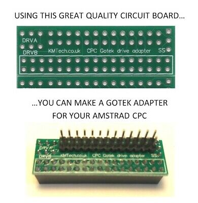 KMTech Gotek External Drive Adapter for the Amstrad CPC PCB ONLY DIY !