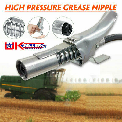 """G Coupler Release Grease Gun Quick Hydraulic Coupling End 1//8/"""" BSP Workshop Farm"""