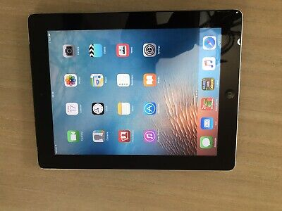 Apple iPad 2 16GB, Wi-Fi + Cellular (Unlocked), 9.7in - Black