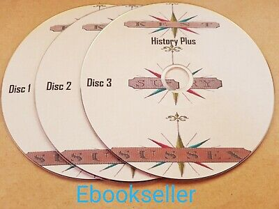 Kent Surrey & Sussex History church Directories in 250 + pdf ebooks on 3 Discs