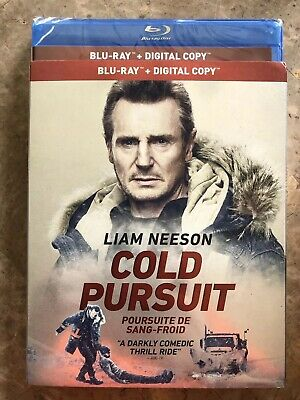 Cold Pursuit Blu-Ray w Slipcover Canada Bilingual NO DC LOOK Liam Neeson