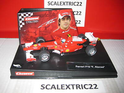 "Ferrari F10 ""F. Alonso"" CARRERA EVOLUTION 1:32 27323"