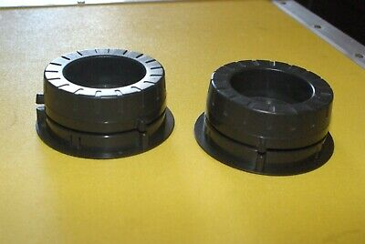 "PAIR of TEAC NAB HUB ADAPTERS TZ612B 1/4"" FOR 10.5 "" REELS in good shape!"