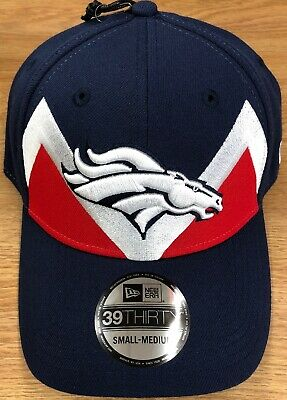 e8873a8b7cb319 Denver Broncos 2019 NFL Draft New Era 39THIRTY Spotlight Flex Cap Size  Sm/Med