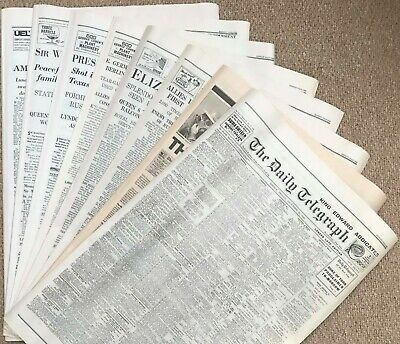 Daily Telegraph and Times Newspaper Reprints