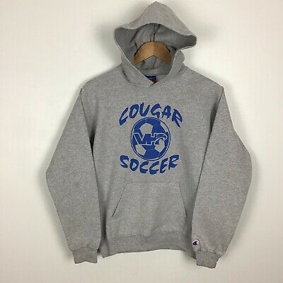Champion Hoodie Fits Xs Womens 'Cougar Soccer'