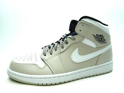 new concept b1927 f6cf8 Air Jordan 1 Mid Men Desert Sand white Men shoes Size 12.0 554724 047