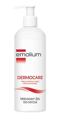 Emolium, a creamy washing gel from 1 month, 400ml