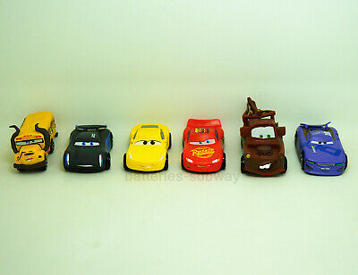 New 6pcs/set New Pixar Cars Movie  McQueen Mater Action Figures Model Toy Gift