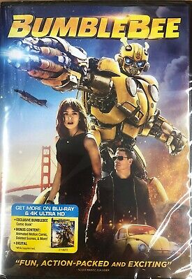 BUMBLEBEE (DVD, 2019) BRAND NEW SEALED! FREE SHIPPING! Region 1