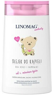 Linomag, bath oil for children and babies from 2 months, 200ml