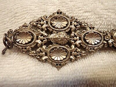 Very Rare Massive French Gothic Style Table Lorgnette (Silver Or Plated?)