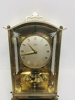 Vintage Schatz 400 Day Carriage Clock Made In Germany