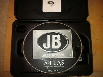 JB Industries ATLAS  Refrigerant Charging Scale 100kg 220lb  see pics...