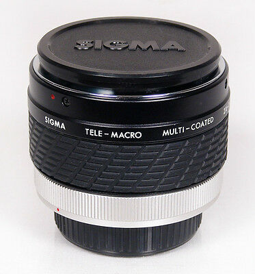 Sigma 2X - 1:1 Tele-Macro Converter Supplementary Lens for Canon FD 35mm SLR