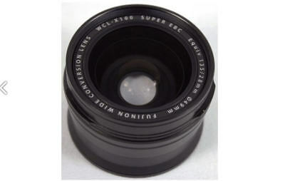 Fujifilm WCL-X100 Wide Conversion Lens for X100S Black