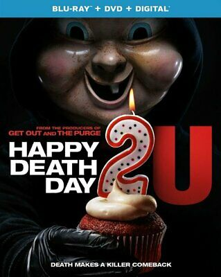 Happy Death Day 2 U U.S.Blu-ray + DVD + Digital, 2019 mit Schonbezug Neu