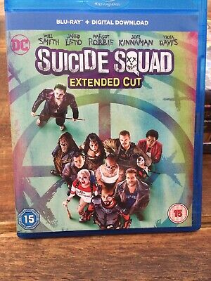 Suicide Squad Blu Ray Extended Cut) Blu Ray