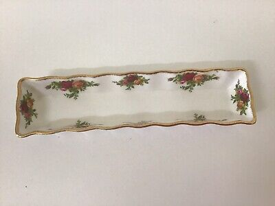 Royal Albert Old Country Roses Tray / England / Mint / 1st Quality