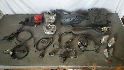 PGO Libra 125 - Parts Spares JOBLOT - Headlight Rear Light Speedo Clocks Carb