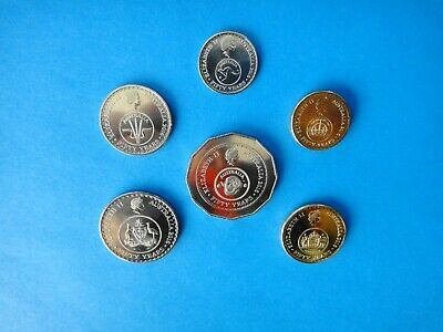 2016 Changeover Set 6 (six) Coins  50th Anniversary of Decimal Currency  UNC #4