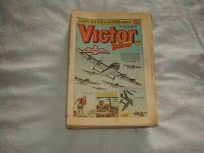 Victor Boys Comic.complete Year 1987. 52 Issues. Good To Very Good Condition.