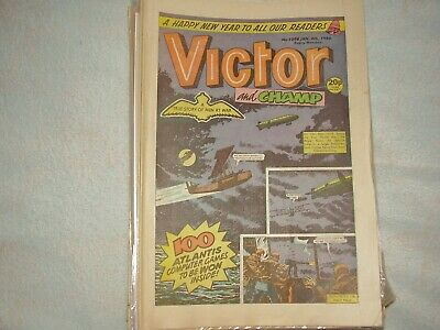 Victor Boys Comic. Complete Year 1986. 52 Issues. Condition Is Good And Better.