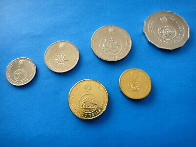 2016 Changeover Set 6 (six) Coins  50th Anniversary of Decimal Currency  UNC #5