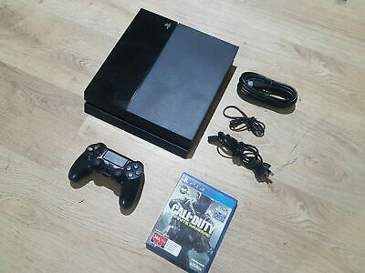 Sony Playstation 4 Ps4 Original Console + All Cords & Controller + 5 Games !
