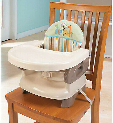 Folding Booster Seat Infant Baby Toddler Feeding Car Comfort Chair Lightweight