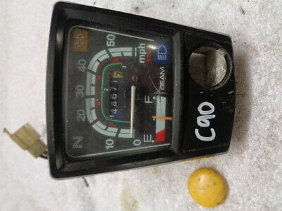 Honda Cub C90 Scooter Moped Speedo Speedometer Clockset Dash