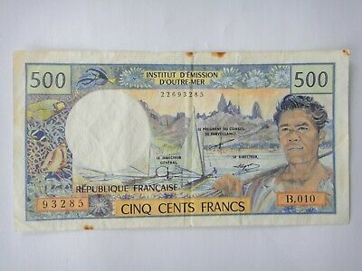 France - French Pacific Territories -  500 Francs Banknote Circulated