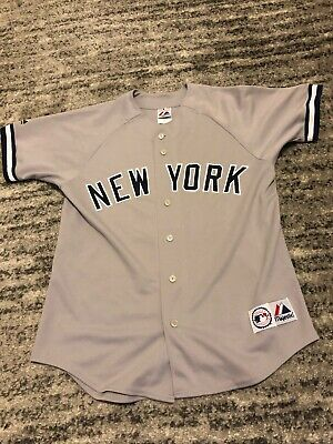 5d3eadad6 Alex Rodriguez #13 NY New York Yankees Majestic MLB Jersey Medium, Made In  USA