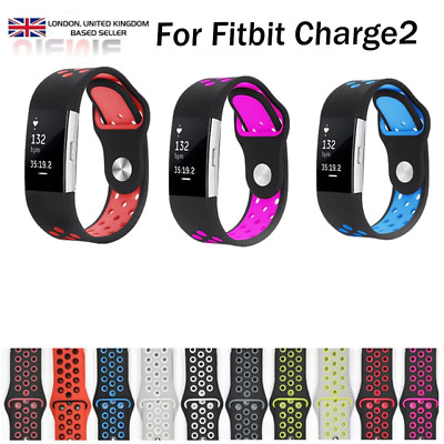 For Fitbit Charge 2 Strap Sports Wrist Band Silicone Replacement Large UK