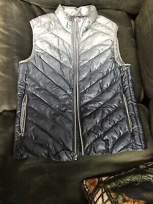 0fb966076 NWT GAP WOMEN'S WINTER Ski BLACK VEST JACKET COAT Down PUFFER LARGE ...