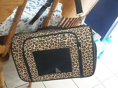 Dog  Carrier Bag Pet Tote Doggie Handbag Cat