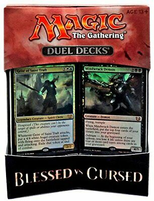 MTG Magic the Gathering Duel Decks BLESSED vs CURSED nuovo INGLESE