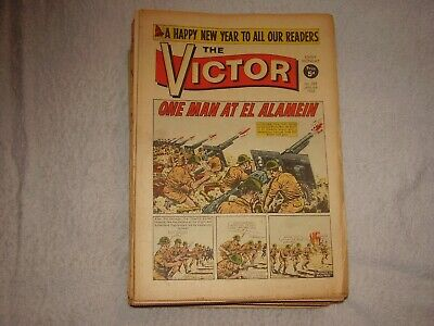Victor Boys Comic Complete Year 1968. 52 Issues.